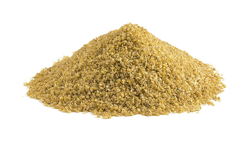 BULGUR - Bulgur is a food consisting of whole wheat that undergoes a particular processing process. The wheat grains are steamed and dried, then ground and reduced into small pieces; it is widespread in the Middle East.